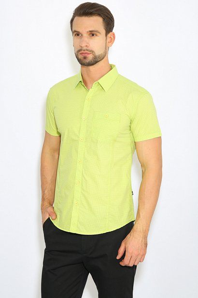 Рубашка мужская, Модель B17-42014, Фото №3