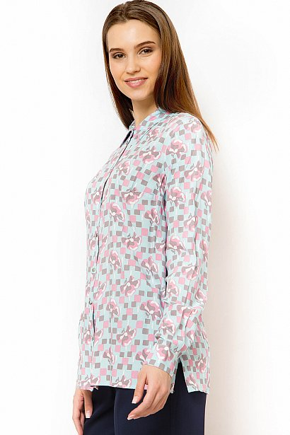 Блузка женская, Модель B18-11073, Фото №4