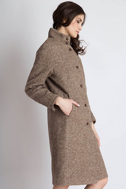 Пальто женское, Модель B18-32009, Фото №4