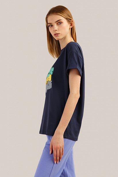 Футболка женская, Модель B19-32035, Фото №3