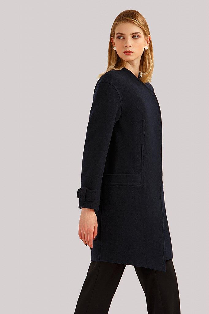 Пальто женское, Модель B19-11089, Фото №3