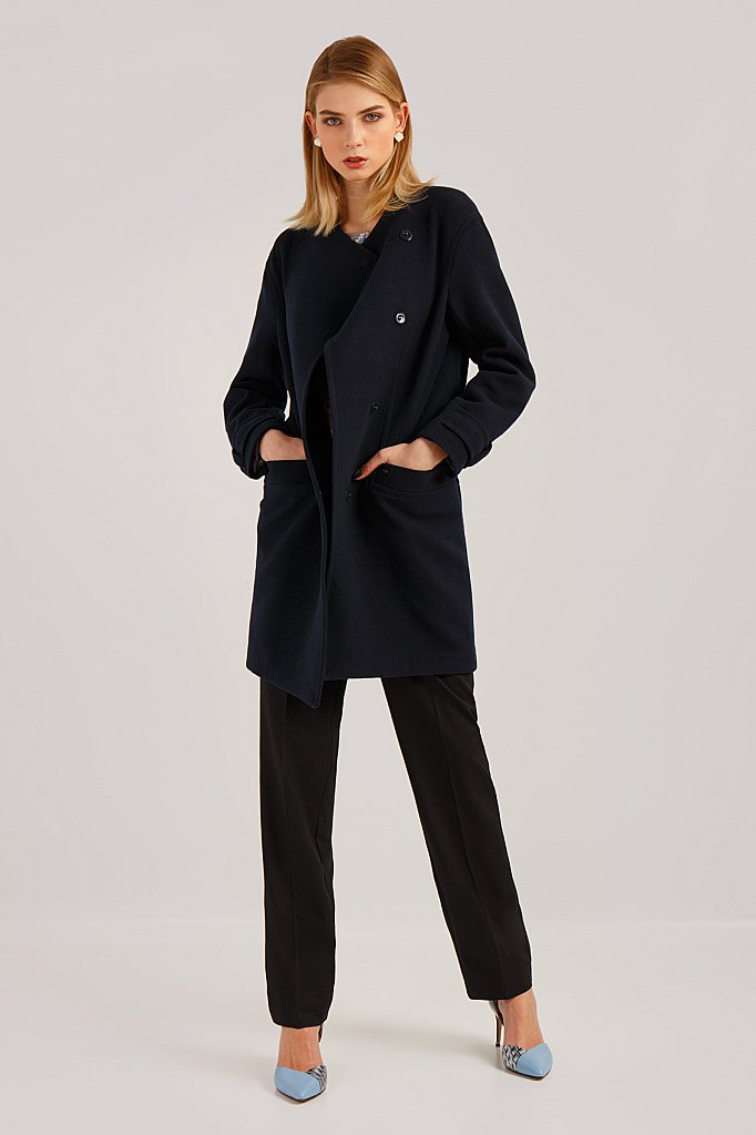 Пальто женское, Модель B19-11089, Фото №4