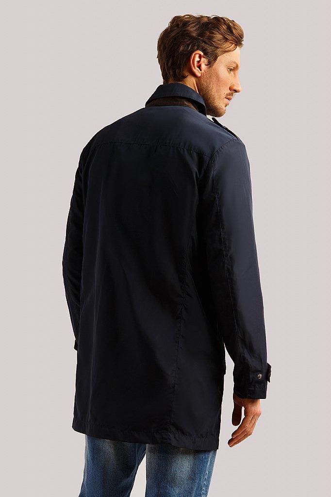 Плащ мужской, Модель B19-21001, Фото №4