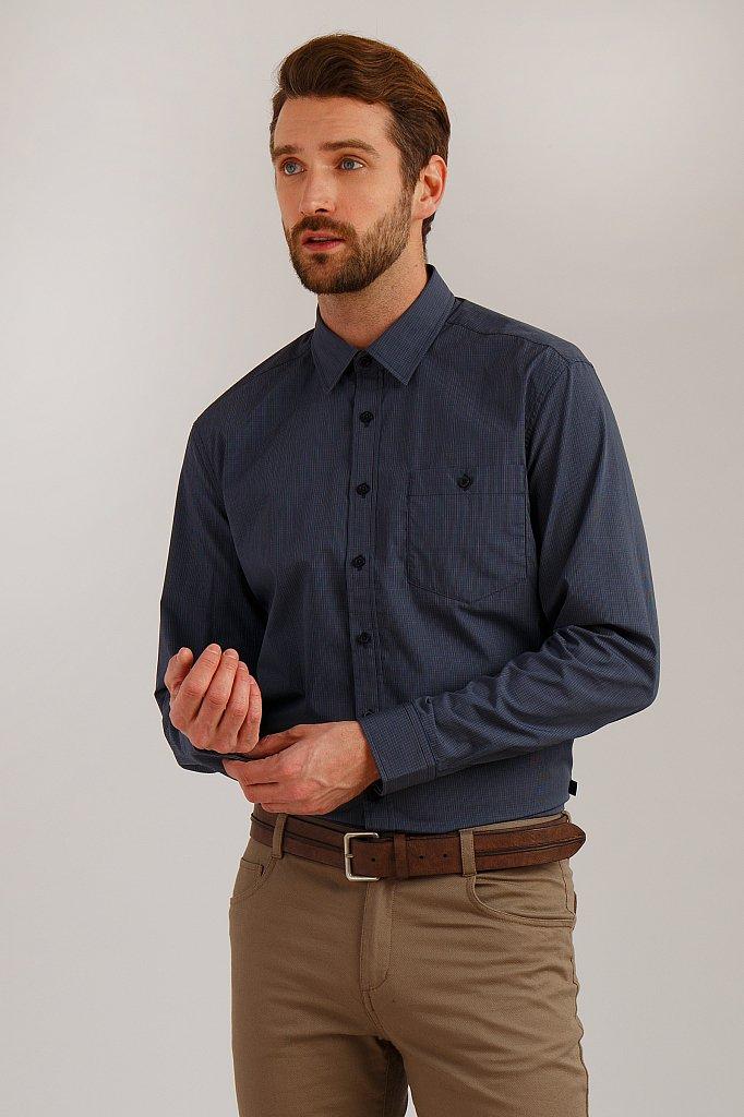 Рубашка мужская, Модель B19-21019, Фото №1
