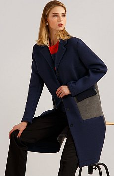 Пальто женское B19-32007