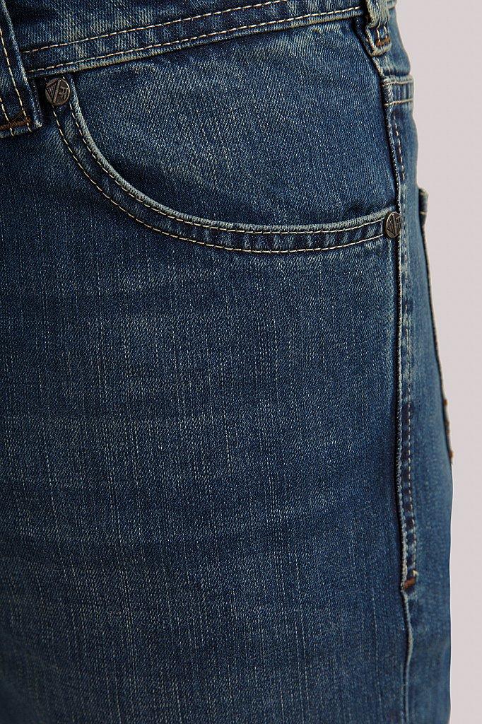 Джинсы мужские, Модель B19-25008, Фото №5