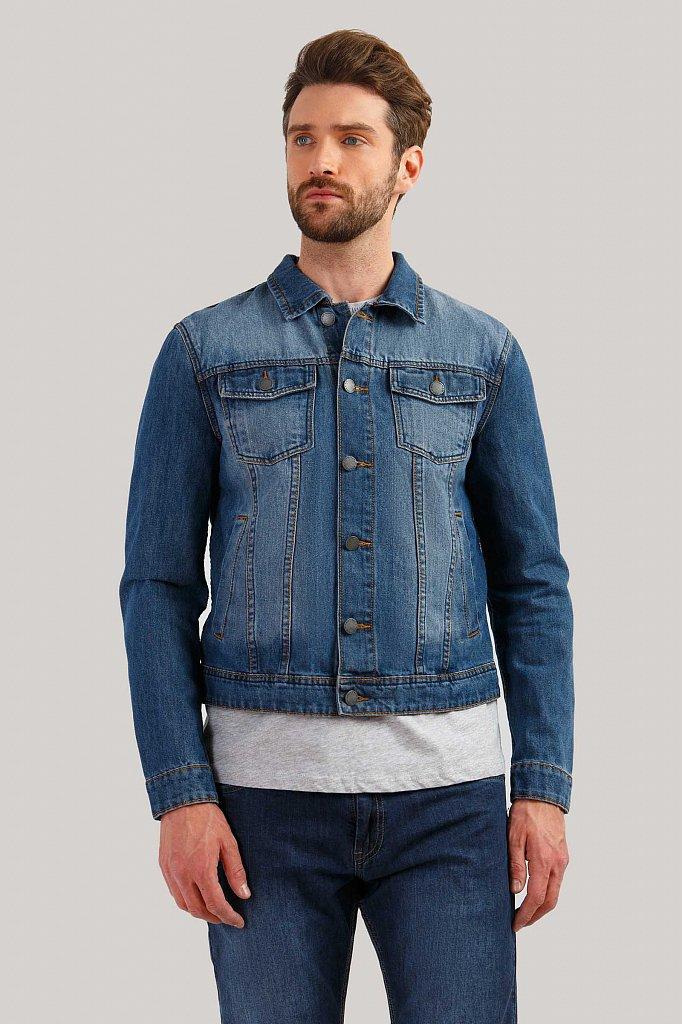 Куртка джинсовая мужская, Модель B19-25000, Фото №1