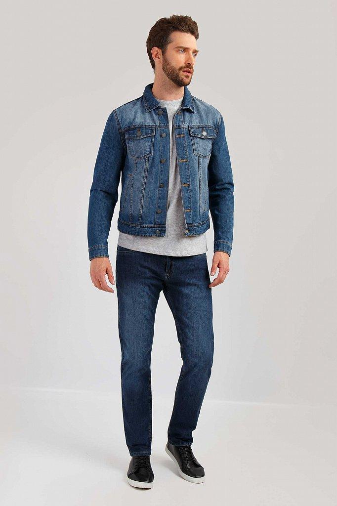 Куртка джинсовая мужская, Модель B19-25000, Фото №2