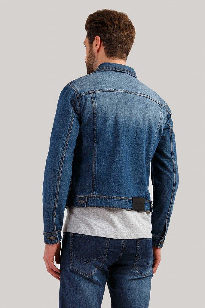 Куртка джинсовая мужская, Модель B19-25000, Фото №3