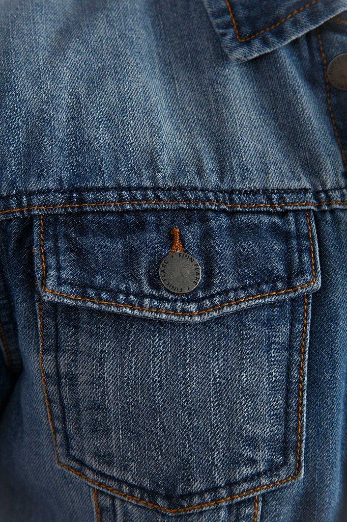 Куртка джинсовая мужская, Модель B19-25000, Фото №4