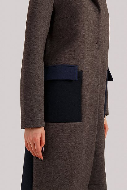 Пальто женское, Модель B19-32007, Фото №5
