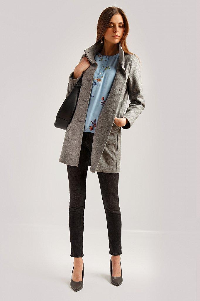 Пальто женское, Модель B19-12004, Фото №2