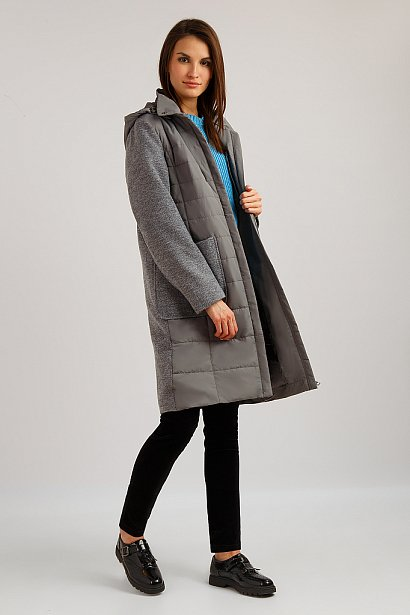 Пальто женское, Модель B19-110110, Фото №2