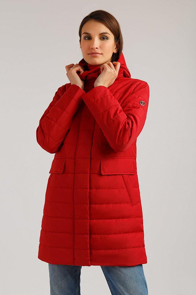 Полупальто женское, Модель B19-110109, Фото №3