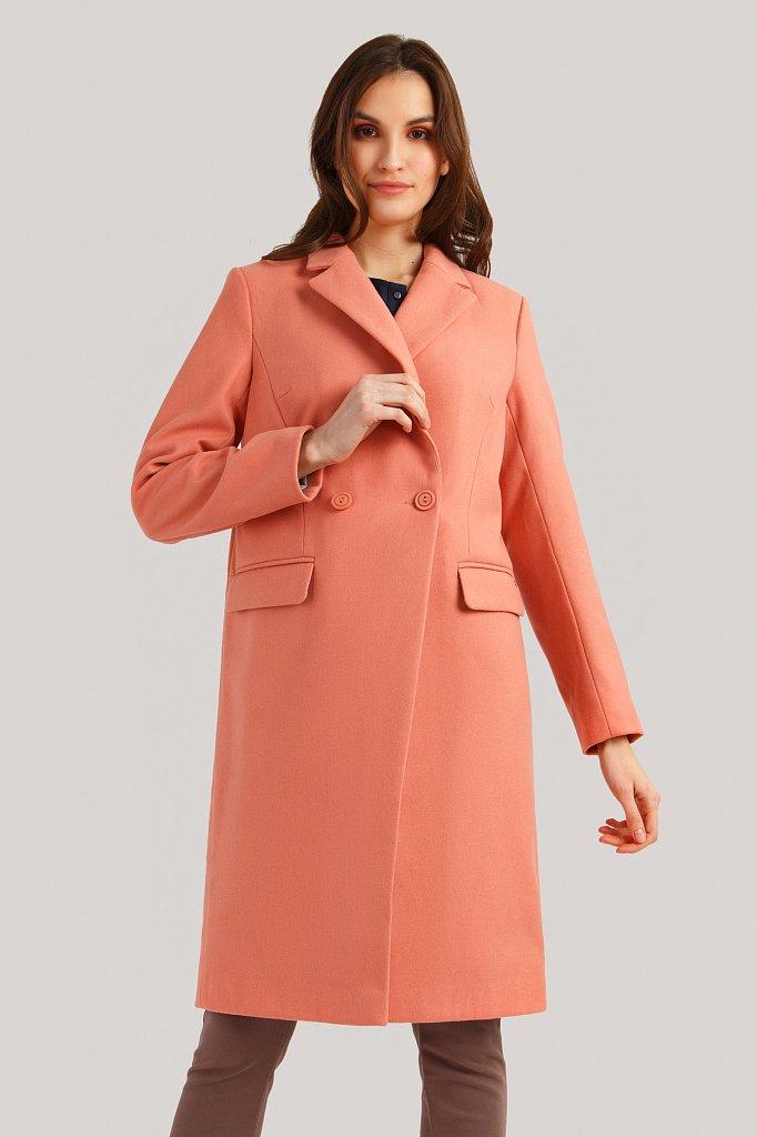 Пальто женское, Модель B19-11007, Фото №1