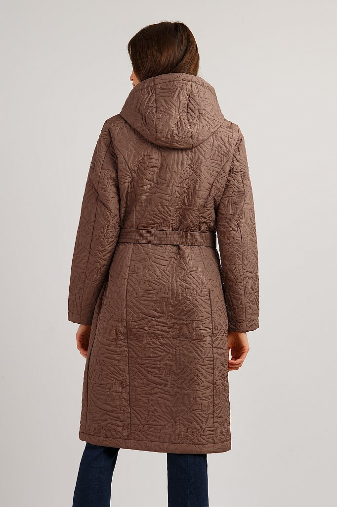 Пальто женское, Модель B19-12010, Фото №4