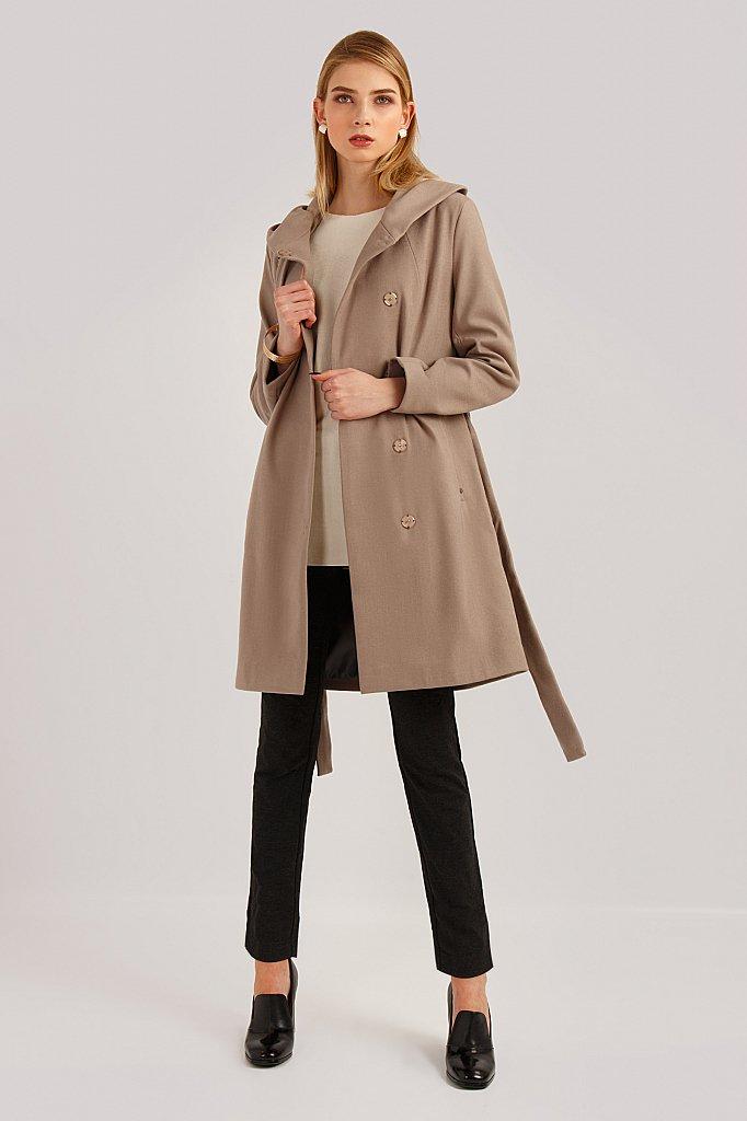 Пальто женское, Модель B19-11006, Фото №2