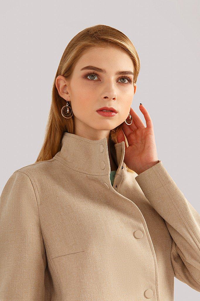 Пальто женское, Модель B19-32002, Фото №5