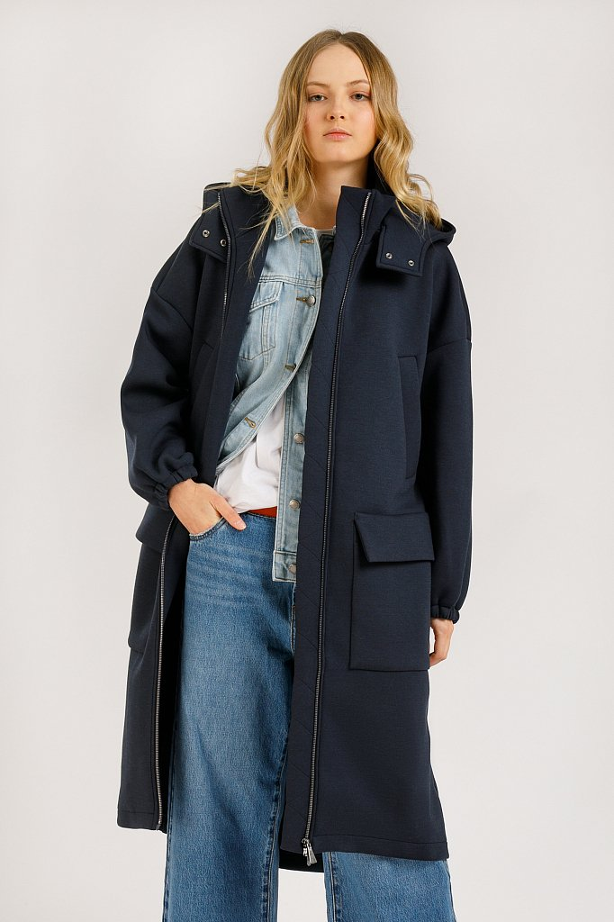 Пальто женское, Модель B20-32060, Фото №1