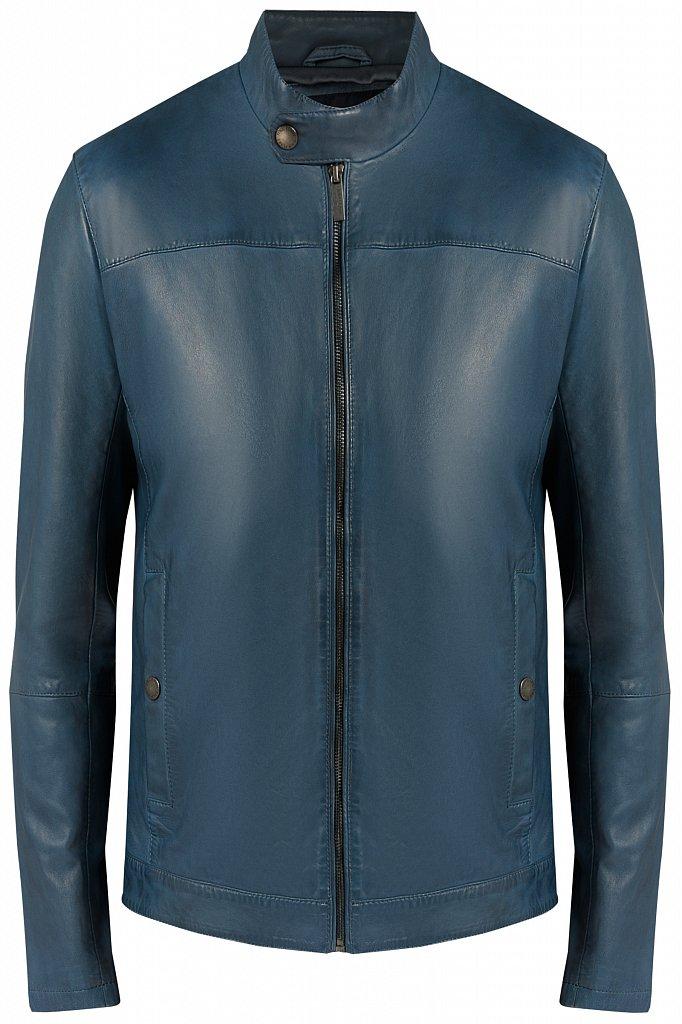 Куртка кожаная мужская, Модель B20-21804, Фото №7