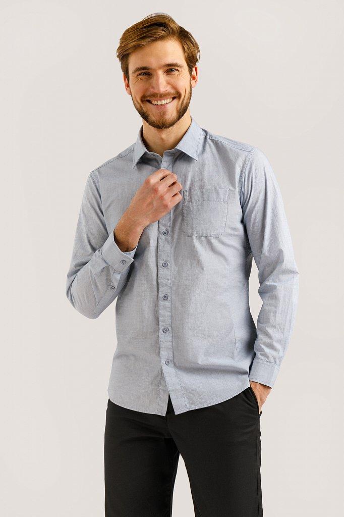Рубашка мужская, Модель B20-21026, Фото №1