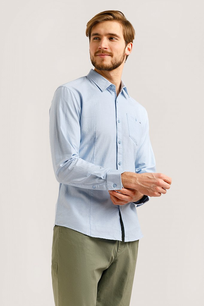Рубашка мужская, Модель B20-42010, Фото №1