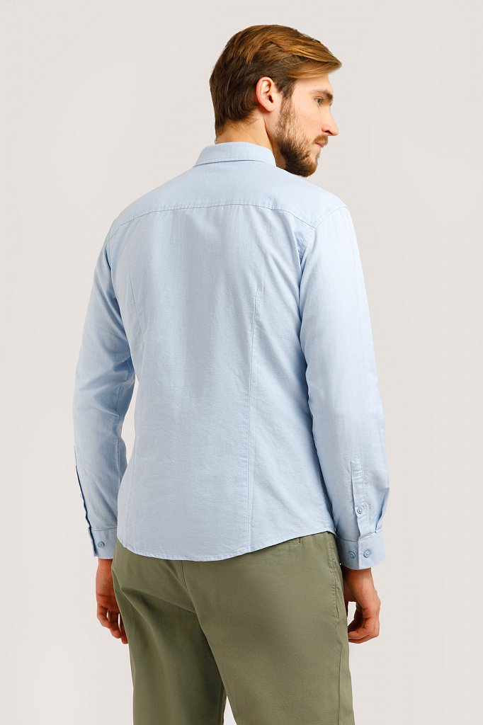 Рубашка мужская, Модель B20-42010, Фото №4