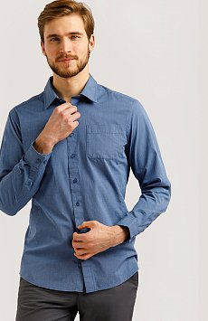 Верхняя сорочка мужская, Модель B20-21026, Фото №1