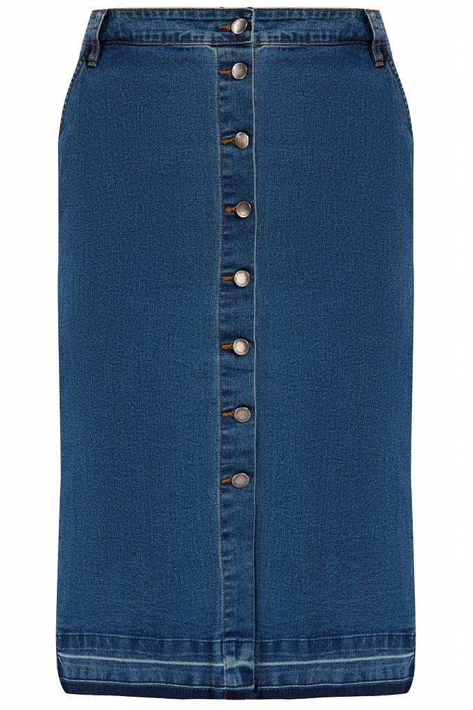 Юбка джинсовая женская, Модель B20-15016, Фото №6