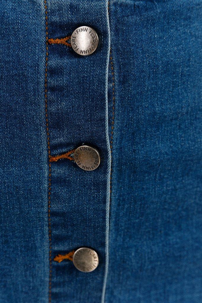 Юбка джинсовая женская, Модель B20-15016, Фото №5