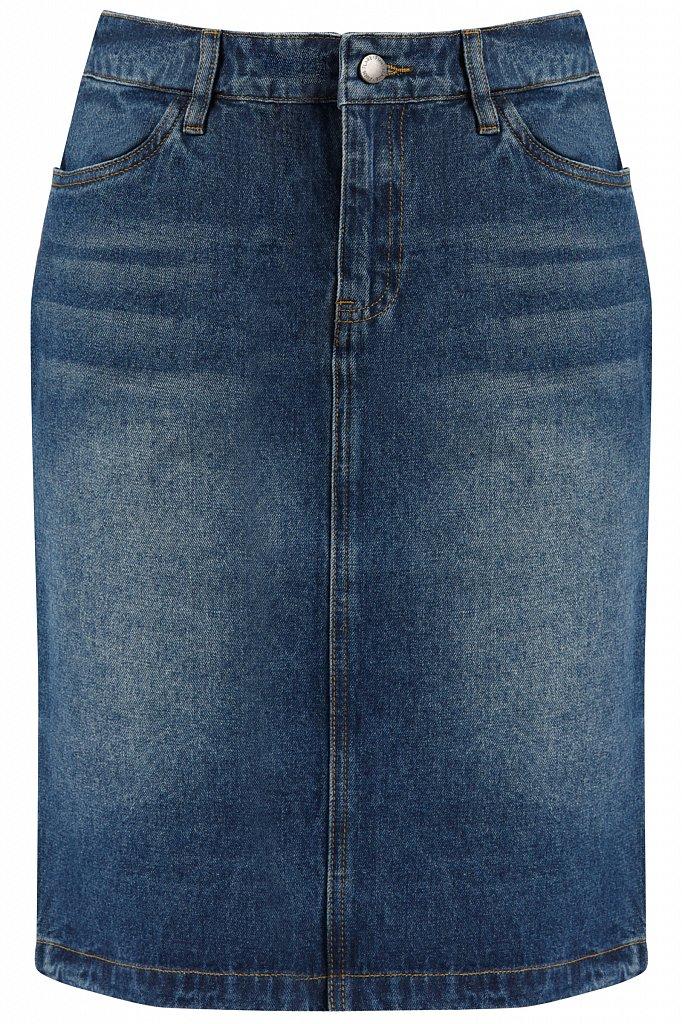 Юбка джинсовая женская, Модель B20-15018, Фото №5