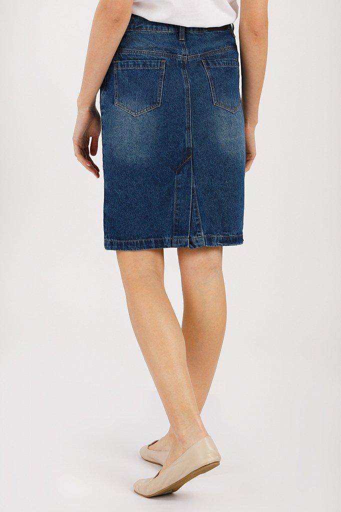 Юбка джинсовая женская, Модель B20-15018, Фото №3