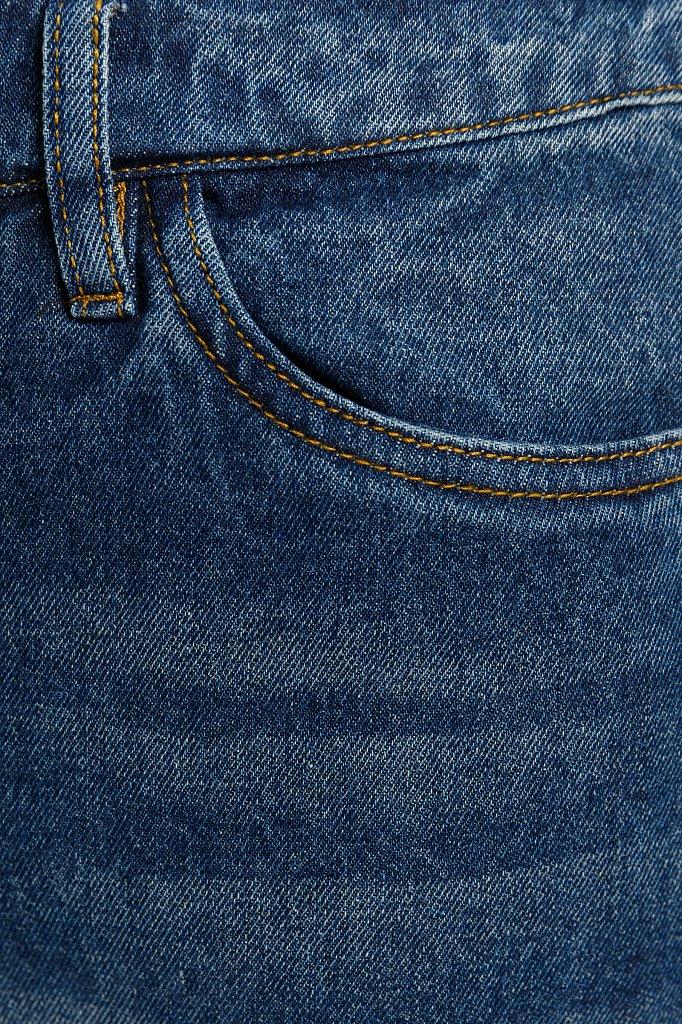 Юбка джинсовая женская, Модель B20-15018, Фото №4
