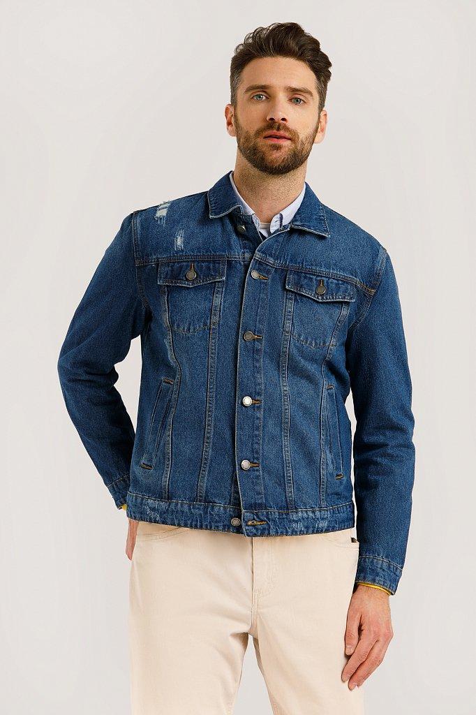 Куртка джинсовая мужская, Модель B20-25000, Фото №1