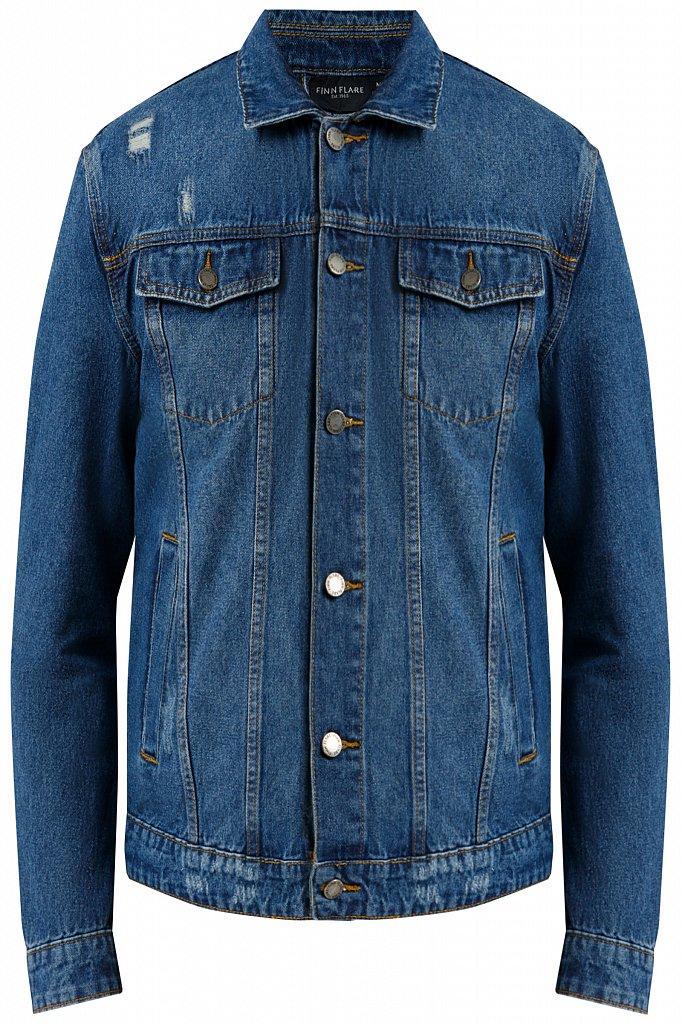 Куртка джинсовая мужская, Модель B20-25000, Фото №6