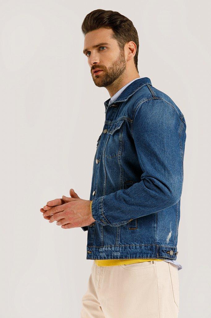 Куртка джинсовая мужская, Модель B20-25000, Фото №3