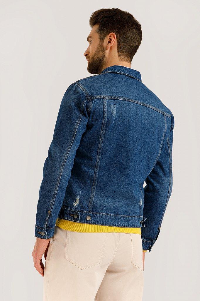 Куртка джинсовая мужская, Модель B20-25000, Фото №4