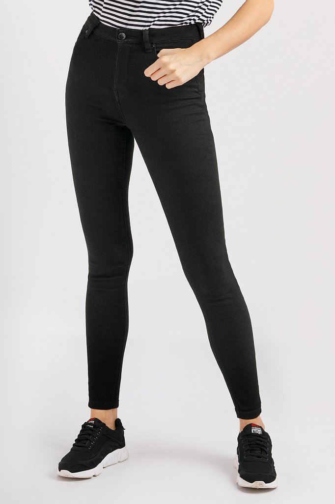 Брюки женские (джинсы), Модель B20-15032, Фото №1