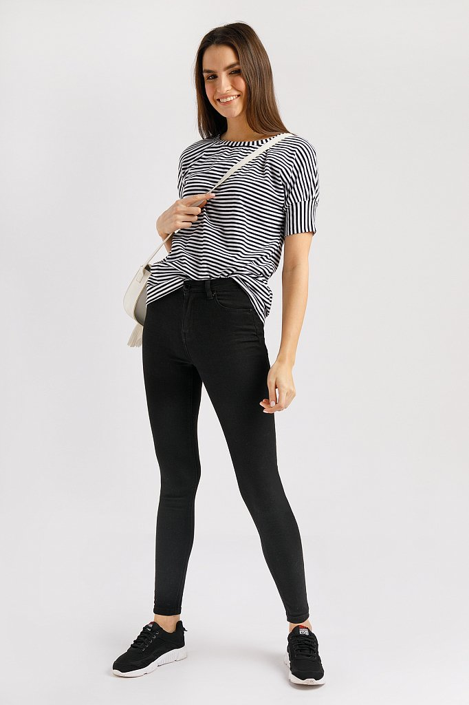 Брюки женские (джинсы), Модель B20-15032, Фото №2