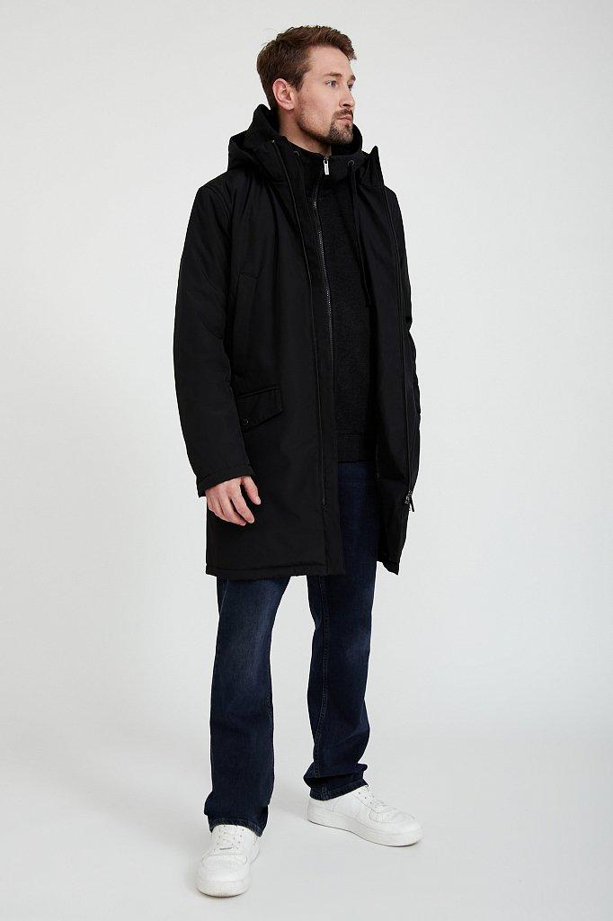Пальто мужское, Модель B20-21009, Фото №2