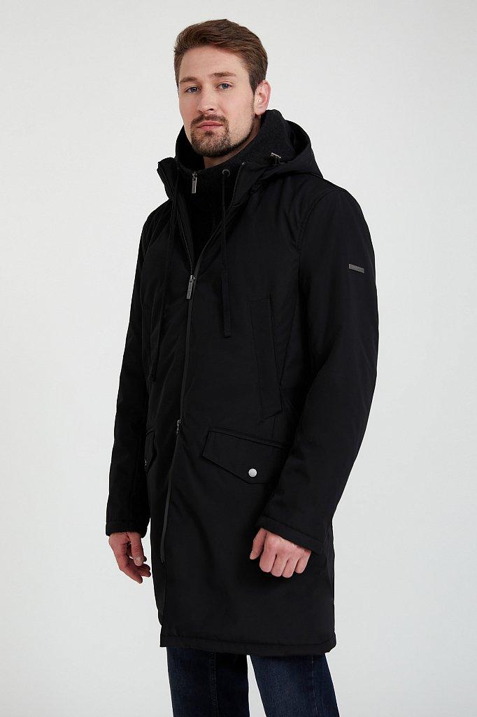 Пальто мужское, Модель B20-21009, Фото №3