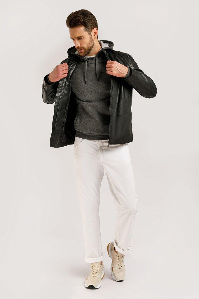 Куртка кожаная мужская, Модель B20-21800, Фото №2