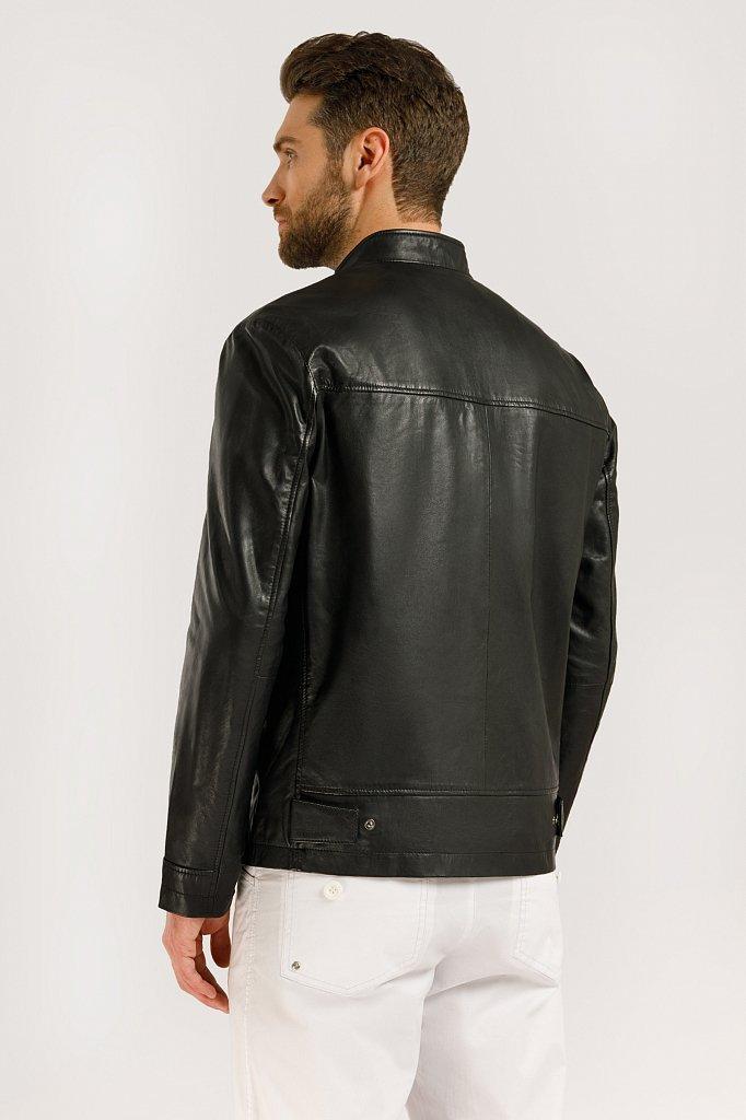 Куртка кожаная мужская, Модель B20-21800, Фото №5