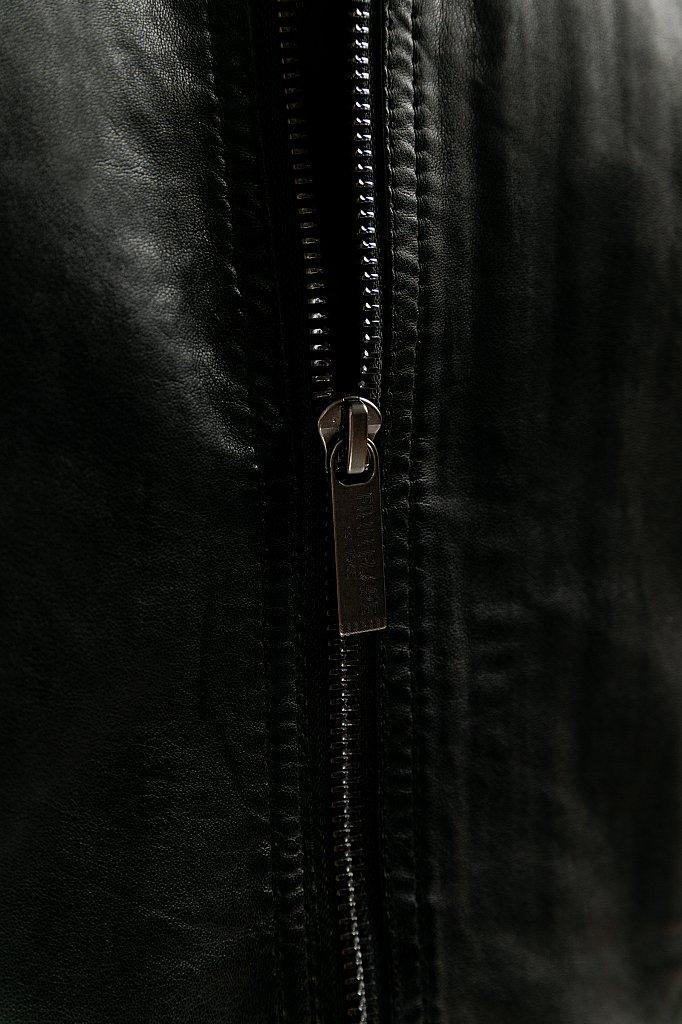 Куртка кожаная мужская, Модель B20-21800, Фото №6