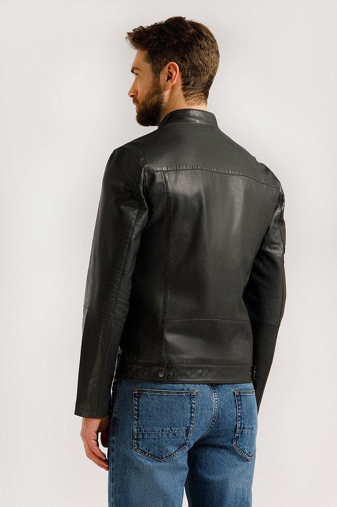 Куртка кожаная мужская, Модель B20-21804, Фото №5