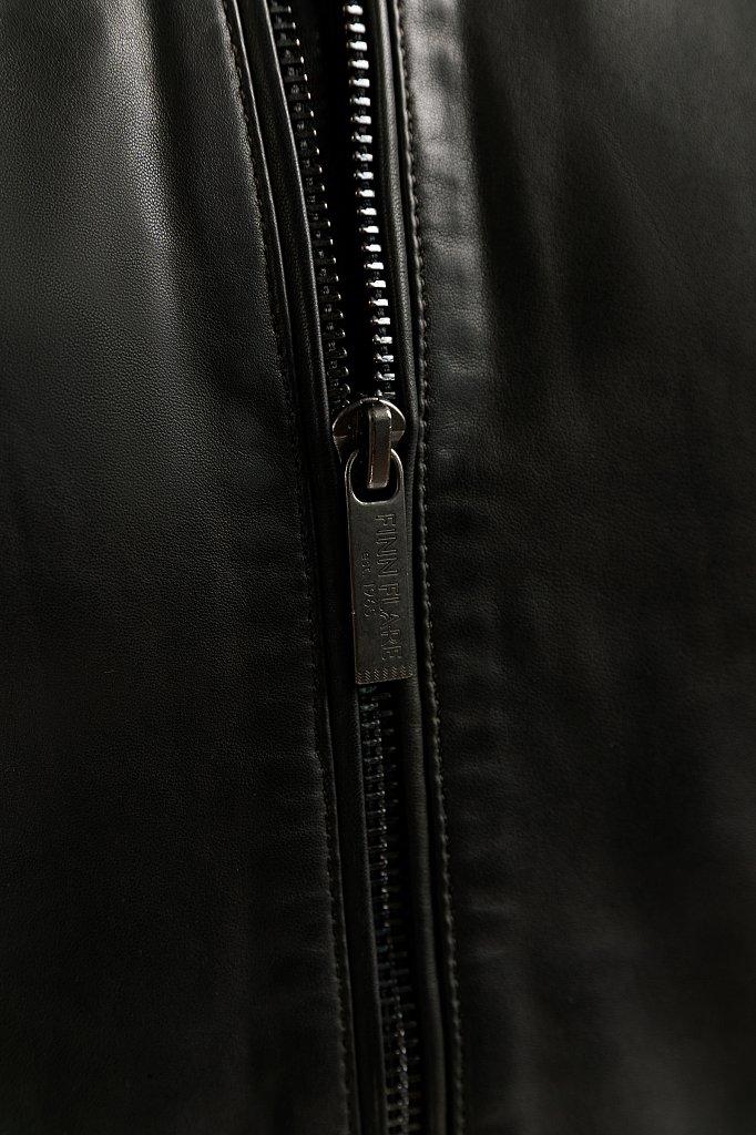 Куртка кожаная мужская, Модель B20-21804, Фото №6
