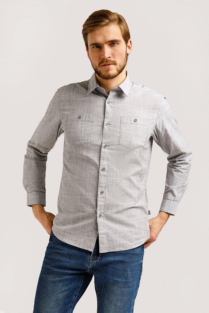 Рубашка мужская, Модель B20-22027, Фото №1