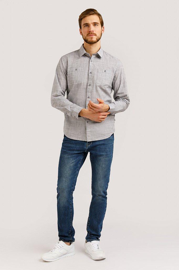 Рубашка мужская, Модель B20-22027, Фото №2