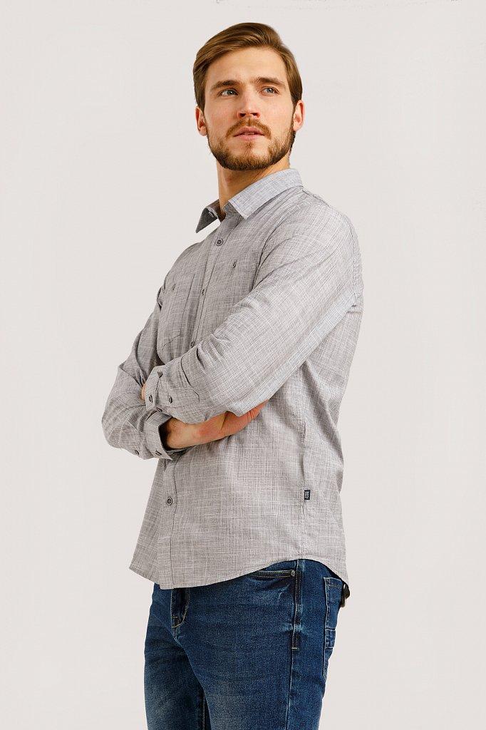 Рубашка мужская, Модель B20-22027, Фото №3