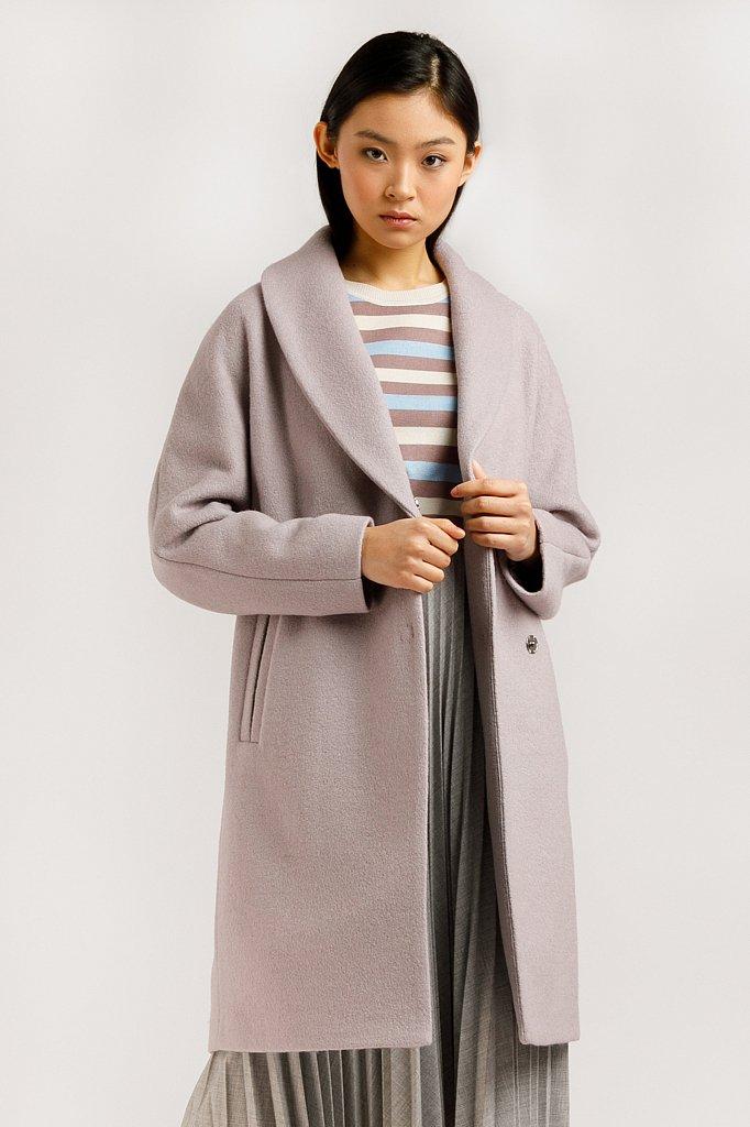 Пальто женское, Модель B20-12033, Фото №1